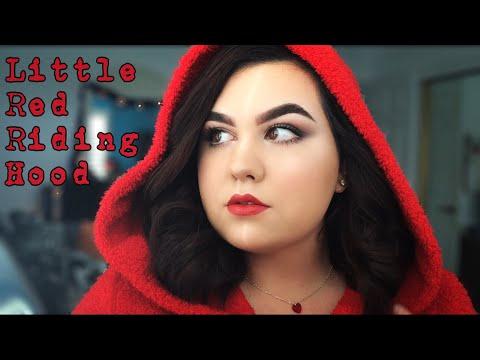 EASY Little Red Riding Hood Halloween Makeup & Hair  Ms Laris Beauty