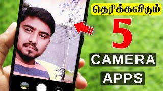 Top 5 Camera Apps In 2019 || சிறந்த 5 Camera Apps For Android 2019 In Tamil