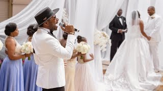 Major Performs At Wedding 39 This Why I Love You 39
