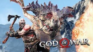 DRAGON BOSS FIGHT!! (God of War PS4 Gameplay)