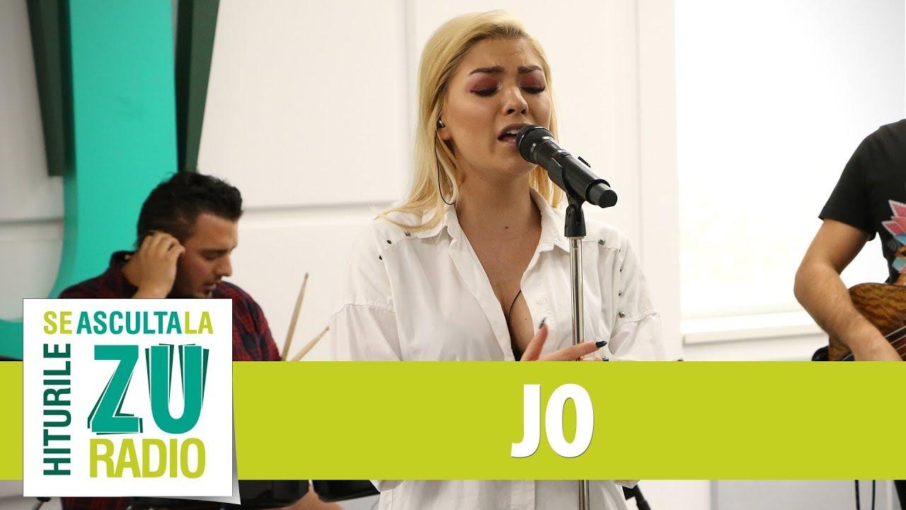 JO - Stinge-mi luna (Live la Radio ZU)