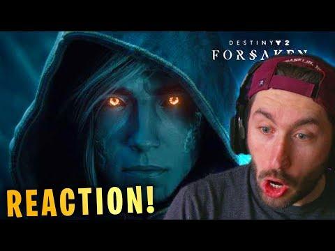 Destiny 2 Forsaken Launch Trailer Reaction & Breakdown! thumbnail