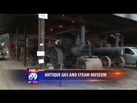 Antique Gas and Steam Engine Museum Tractor Story