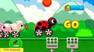 Animal Cars Kids Racing Game : Ladybug Car - Part 1/Game For Kids-Nursery Rhymes Songs For Children