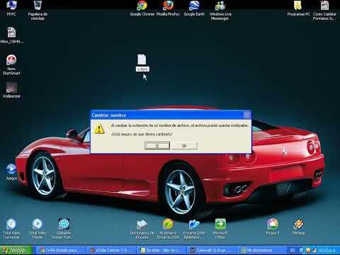 Como Cambiar Formatos Sin programas (Windows 7, XP)