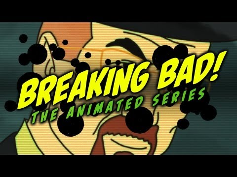 Breaking Bad As a Cartoon!