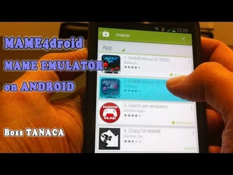 Tutorial - How to install  MAME Emulator and ROMs on Android [MAME4droid - Arcade games Emulator]