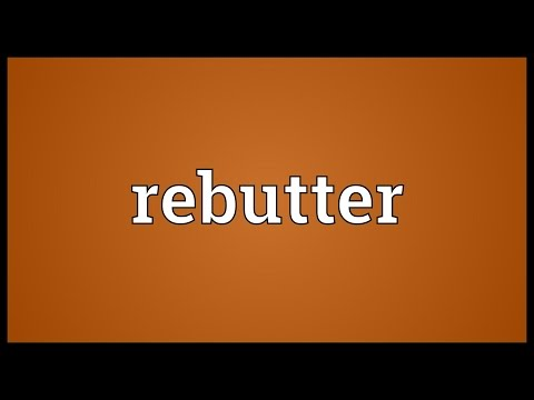 Header of rebutter