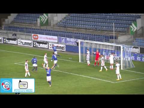 Résumé vidéo du match entre le RC Strasbourg Alsace et le FC Bourg-Péronnas, 23e journée de National. En savoir plus : www.rcstrasbourgalsace.fr.