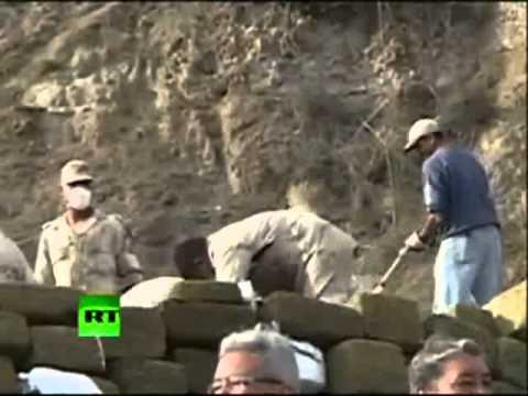 TV jaja - Meksyk: policja pali 134 tony zioła