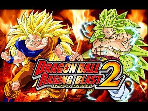 Dragon Ball Raging Blast 2 Ssj3 Goku Vs Ssj3 Broly Saiyan Legends video