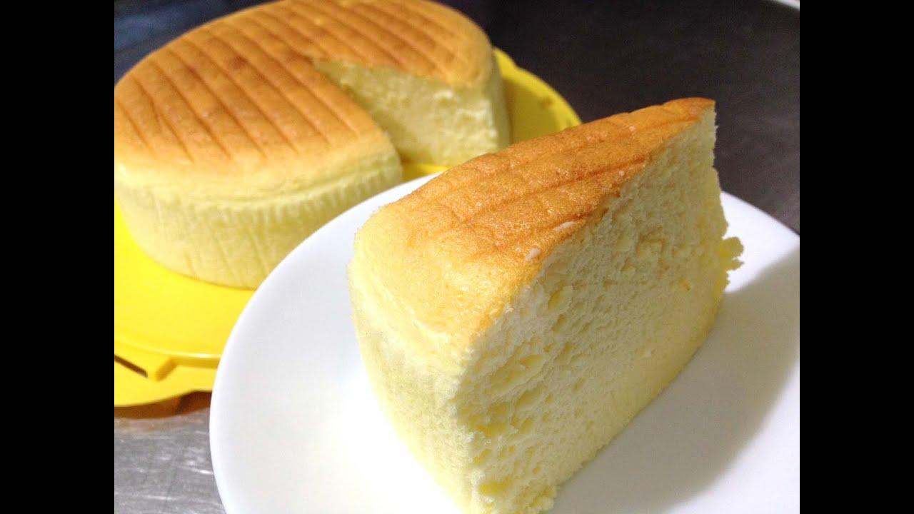 Soft Fluffy Sponge Cake Recipe