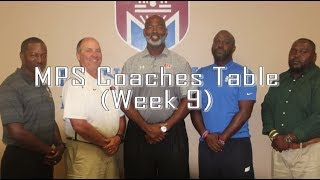 MPS Coaches Table Week 9
