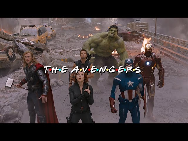 Friends Intro The Avengers Edition HD