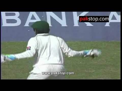 Adnan Akmal Chicken Dance During Final Test Against England 2012
