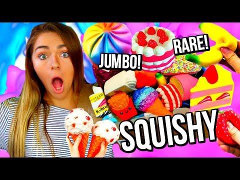 RARE JUMBO SQUISHY PACKAGE! HUGE SQUISHY REVIEW + HUGE SQUISHY GIVEAWAY