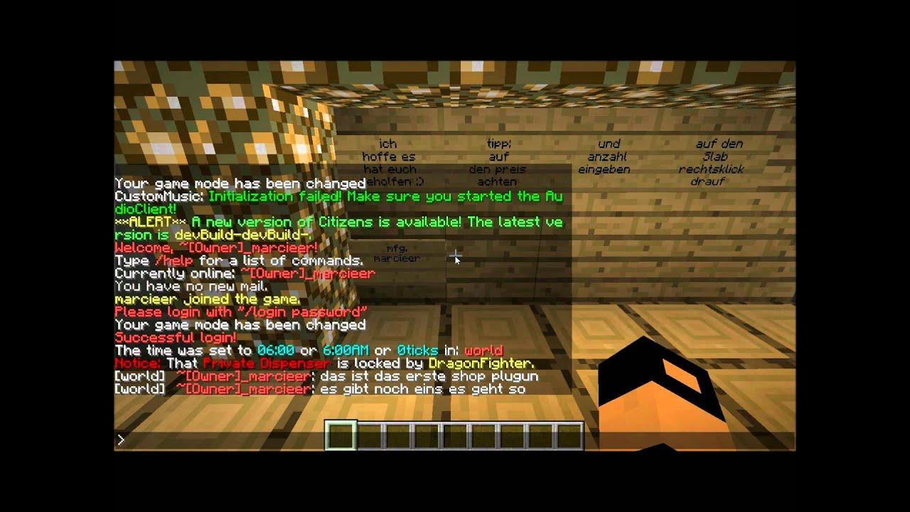 minecraft server 2 slots