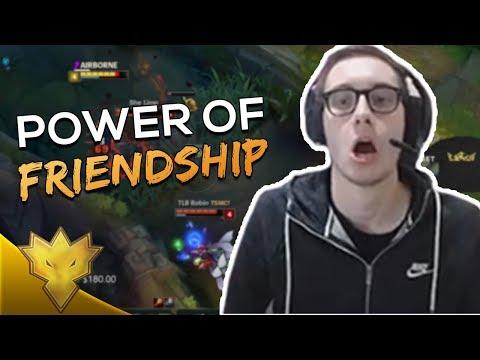 "TSM Bjergsen & Svenskeren - ""POWER OF FRIENDSHIP"" - League of Legends Highlights & Funny Moments"