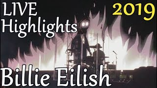 Billie Eilish LIVE Tour Highlights - When We All Fall Asleep - Melbourne 2019