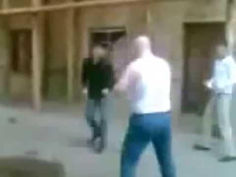 Чеченец против русского толстяка. Chechen Vs Russain 6