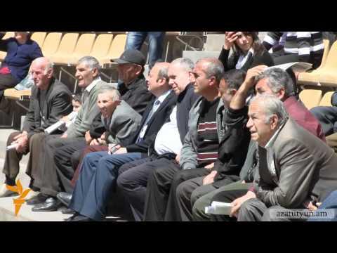 Եղեգնաձորում գառ մորթեցին ՀԱԿ-ի առաջնորդների առաջ