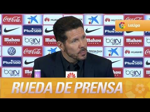 """Simeone: """"El arranque del partido no fue bueno"""""""