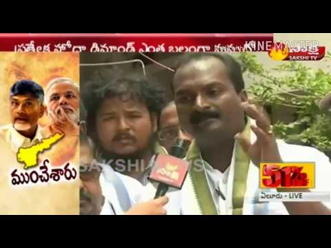 Bandaru Kiran Kumar Speaks about Special status for Andhra Pradesh