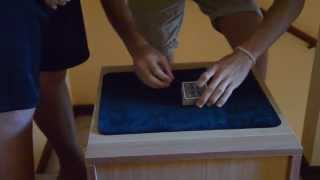 Tour of Magic 1- House- Dynamo Levitation card trick!!!