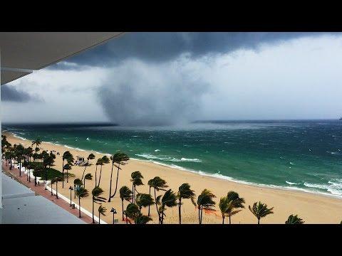 Tornado on Fort Lauderdale beach