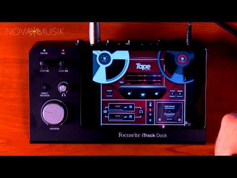 Nova Musik - Focusrite iTrack Dock with Paul Heyerdahl
