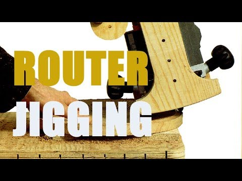 Woodworking with Jeremy Broun - Router Jigging