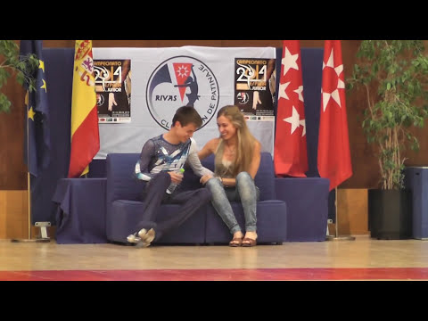 Sergio Canales DL Cto  España Junior 2014
