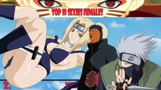 Top 10 Naruto Shippuden Sexiest Females