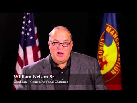 William Nelson Sr Comanche Tribal Chairman Candidate