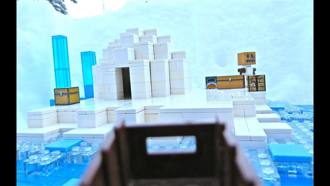 LEGO Minecraft Arctic YouTube