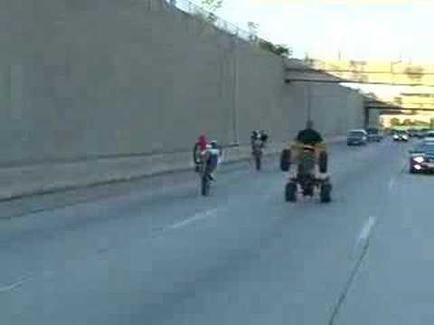 Longest 4 Wheeler Wheely on U Tube