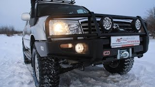 Тюнинг Toyota Land Cruiser 100 от ЭКСТРИМ НН