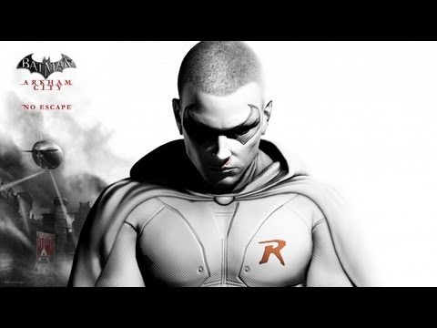 Batman Arkham City - Robin Combat and Predator Gameplay (Gameplay/Commentary)