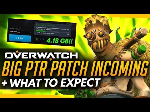 Overwatch News | BIG PTR PATCH THIS WEEK! + What To Expect (Junkrat and Roadhog Buffs)