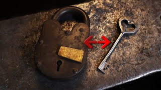 Forging a Key for an Old Lock - Slavic Smith