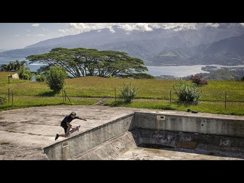 Skating Hidden Bowls Deep in the Jungle | Some Like it Blue: Part 3