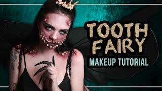 TOOTH FAIRY 🦷 die Zahnfee - Halloween Makeup Tutorial (deutsch) #spooktober