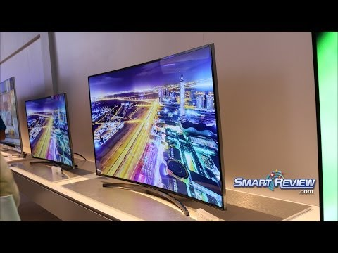 CES 2014   Samsung H8000 Series Full HD Curved LED TV    Smart UN48H8000. UN55H8000. UN65H8000