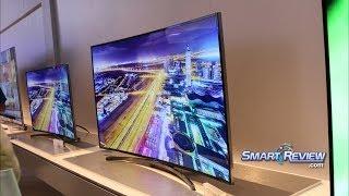 CES 2014   Samsung H8000 Series Full HD Curved LED TV    Smart UN48H8000, UN55H8000, UN65H8000  