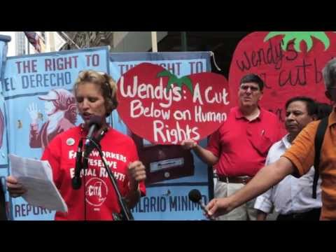 Kerry Kennedy, Wendy's Shareholder Meeting