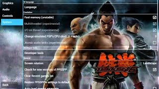 Tekken 6 Smooth Gameplay | Android PPSSPP/PSP Game Settings