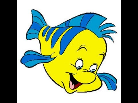 Disney Characters-flounder