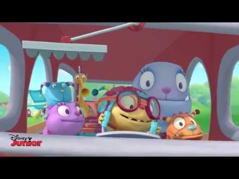 Henry Hugglemonster - Save The Day Song - Official Disney Junior UK HD