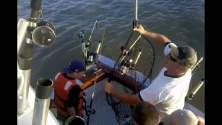 Kids Catch Really Big Fish in Camp Anokijig