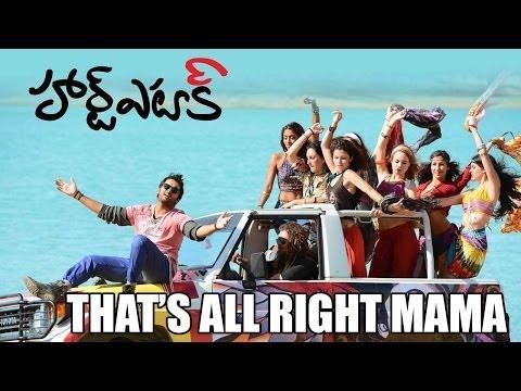 Heart Attack - Thats Alrite Mama Full HD Video Song | Nithiin , Adah Sharma , Puri Jagannadh